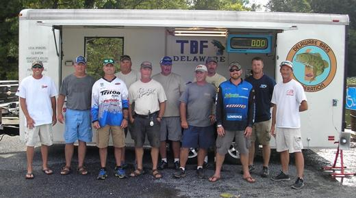 Back Row left to Right: Team Captain Jeff Semans, Mike Morris, Kenny Spicer, Brian Barnes, Bobby Smith, Craig Morris, and Neal Wharton. (Not pictured Jason Vaughn) Front row: Mark Hogan, Brian La Clair, Roger Shirkey, and Jobe Tomer